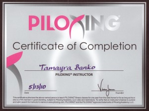 Piloxing Instructor