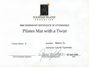 Polestar Pilates Mat with a Twist